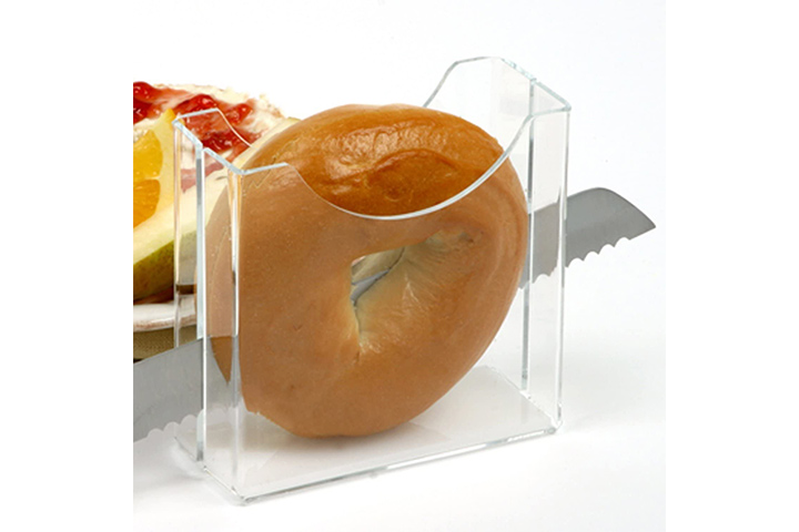 Clear Design Bagel SlicerHolder By LilGift