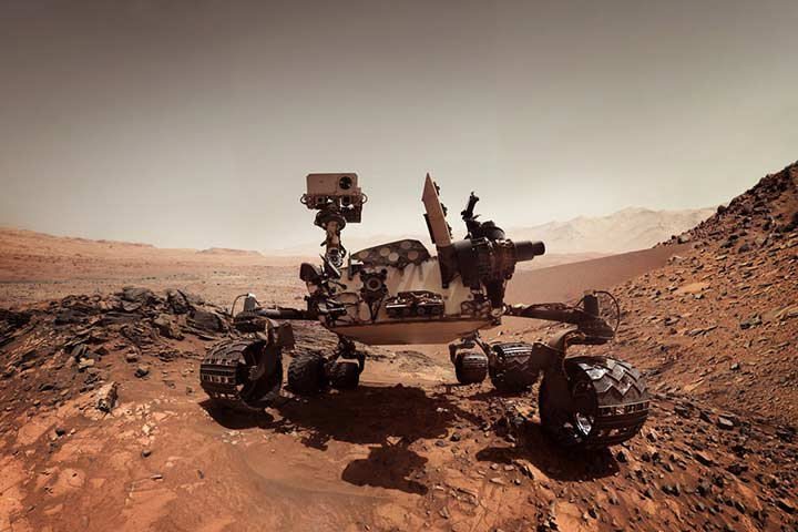 Climatic conditions on Mars