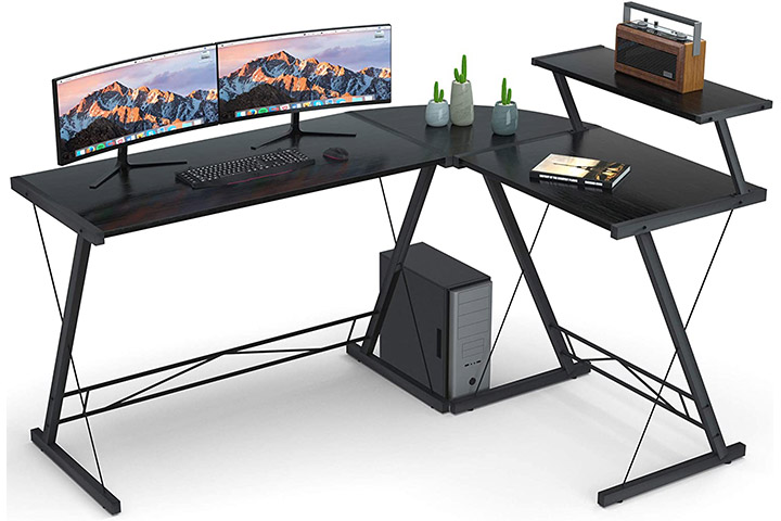 Coleshome Reversible L-Shaped Home Office Desk