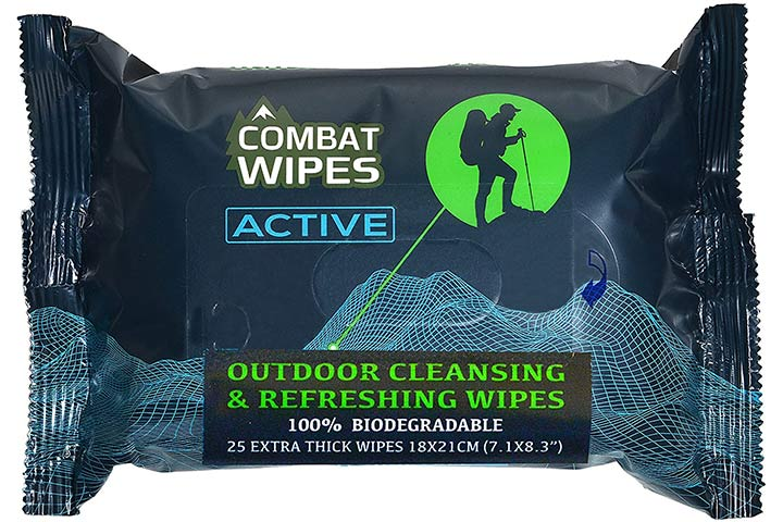 Combat Outdoor Cleansing Wipes