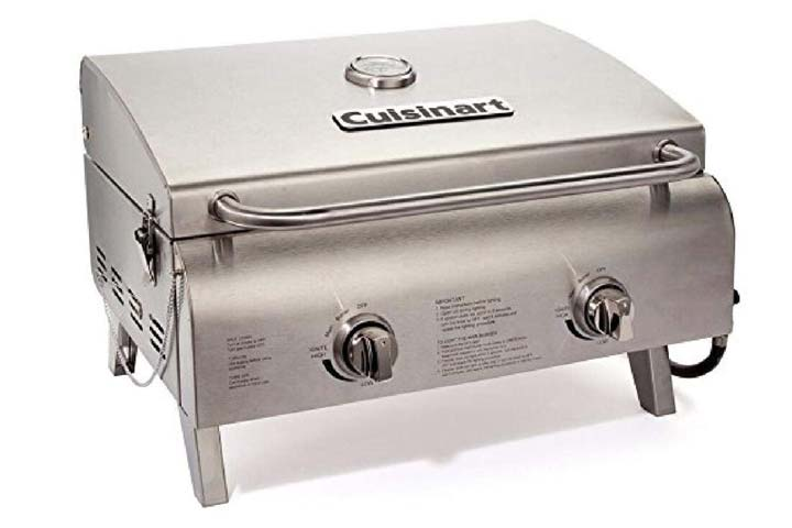 Cuisinart CGG-306 Chefs Style Propane Tabletop Grill