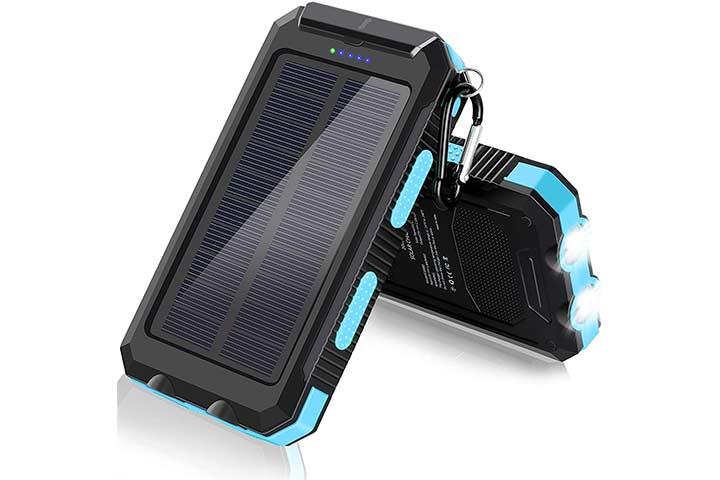 Dorla Portable Waterproof Solar Power Bank