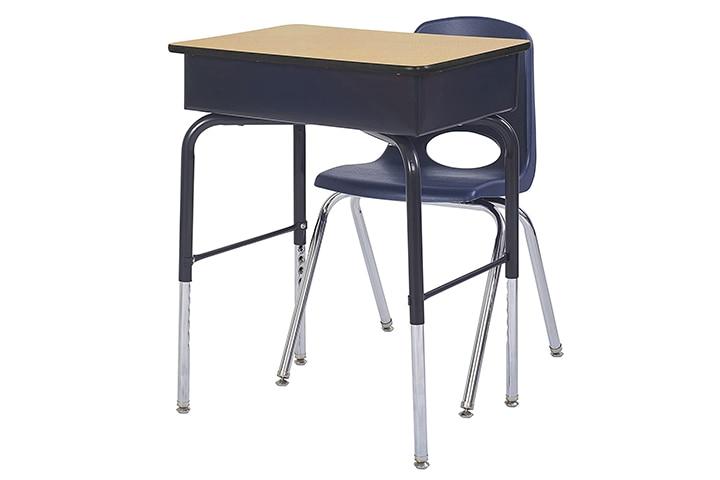 ECR4Kids Adjustable Student Desk
