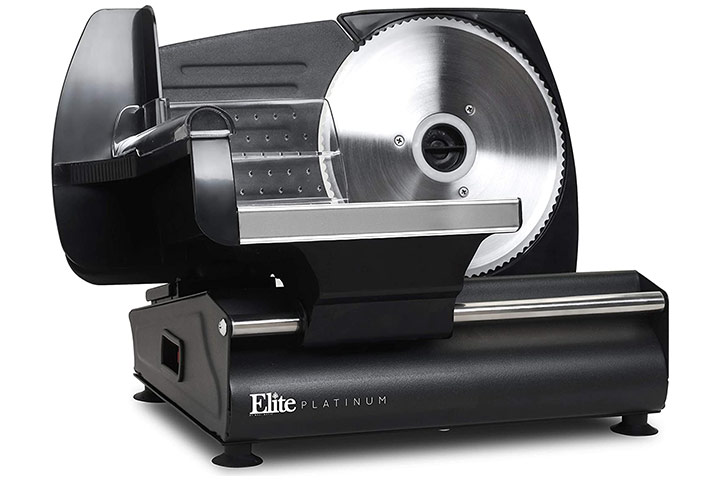 Elite Gourmet Platinum Meat Slicer