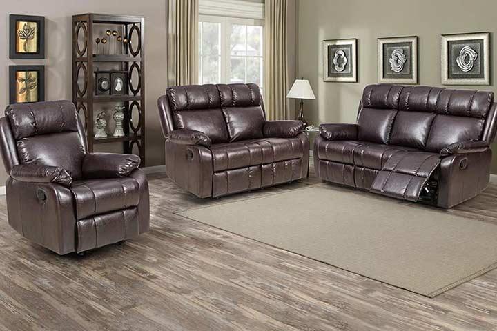 FDW Recliner Sofa Set