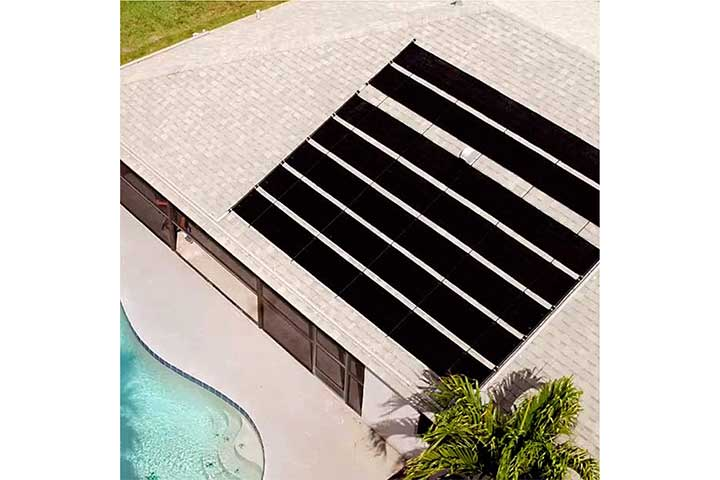 Fafco Solar Bearing Economy Heating System for Above-Ground Pools