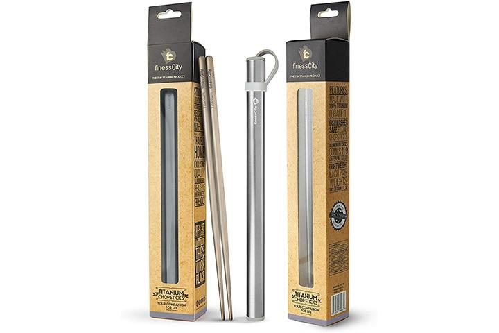 FinessCity Titanium Chopsticks