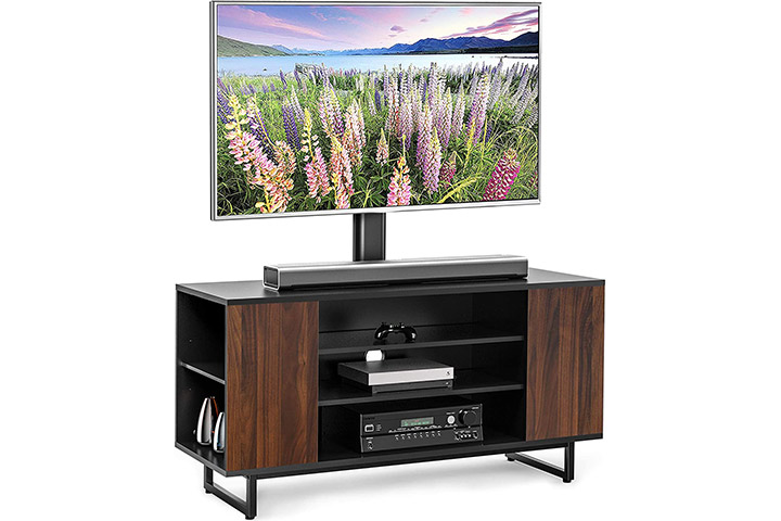 Fitueyes Wood TV Stand