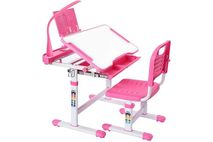Forfar Kids Study Desk and Chair Set
