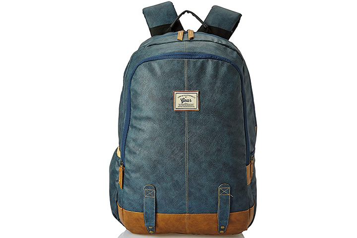 Gear Classic Anti-Theft Faux Leather Backpack