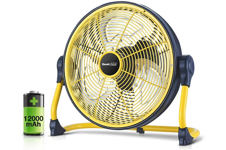 Geek Aire Rechargeable Floor Fan