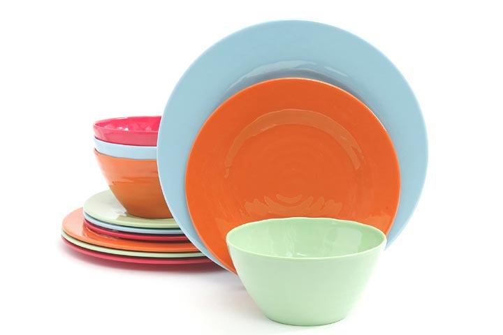 Gibson Home Brist Melamine Dinnerware Set