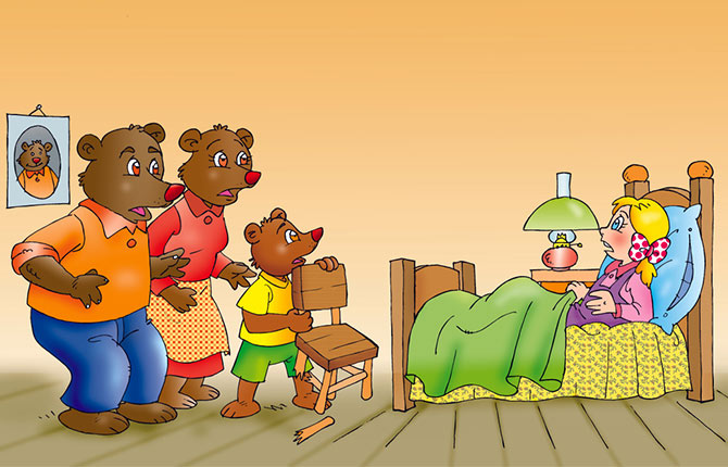 Goldilocks And Three Bears In Hindi