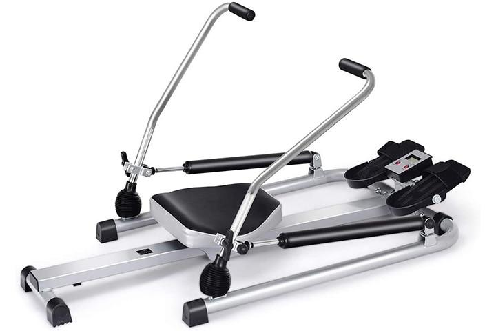 Goplus Hydraulic Rowing Machine