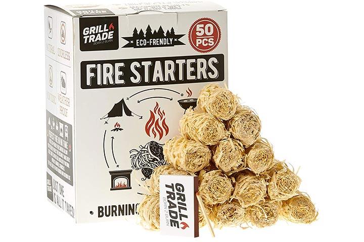 Grill Trade Natural Firestarters