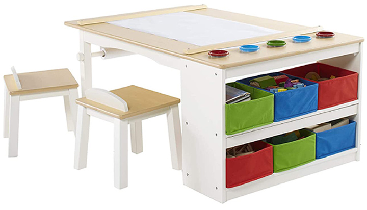 Guidecraft Kids Activity Table and Chair