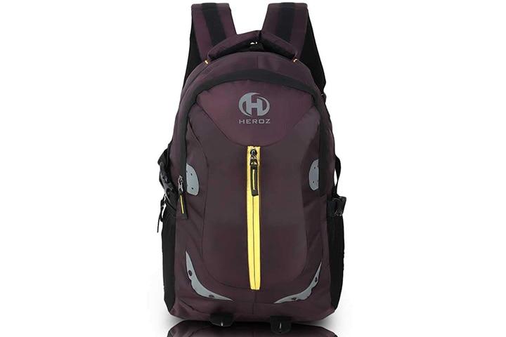 HEROZ Harbour Unisex Nylon Travel Laptop Backpack