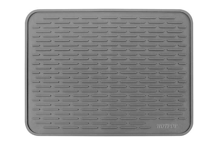 HOTPOP Silicone Dish Drying Mat