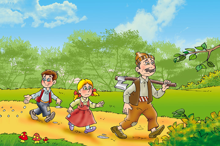 Hansel And Gretel Story In Hindi