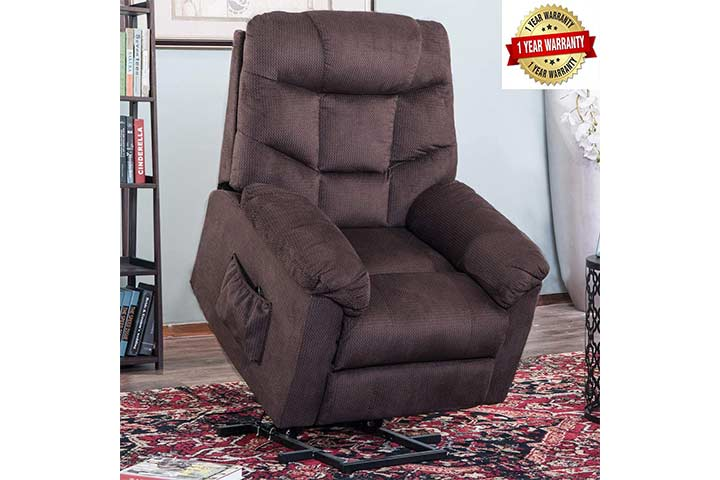 Harper & Bright Designs Recliner Chair With Remote Control
