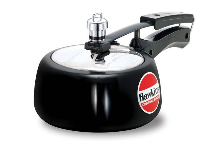 Hawkins Contura Black Pressure Cooker