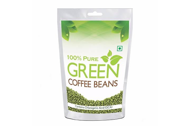 Health First Pure Organic Arabica Green Coffee Beans