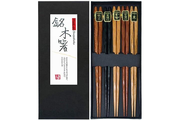 HuaLan Japanese Natural Wood Chopstick