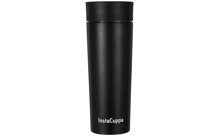 InstaCuppa Vacuum Insulated Coffee, Tea Travel Mug