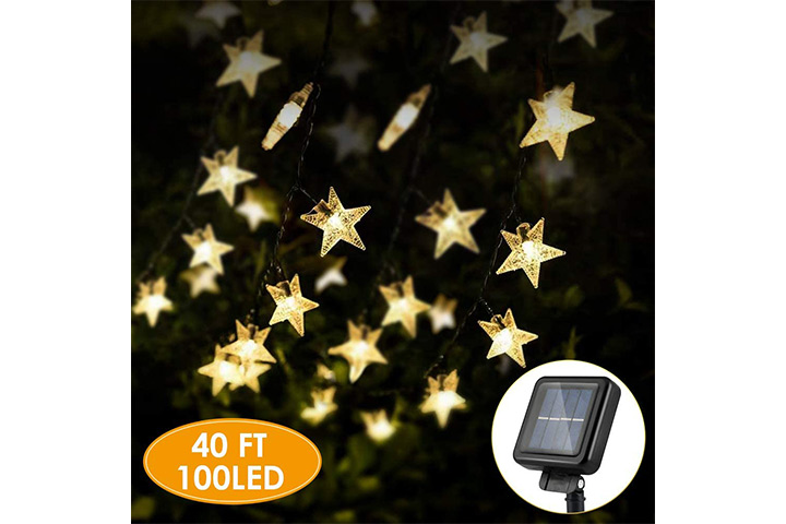 KeShi Solar Star String Lights