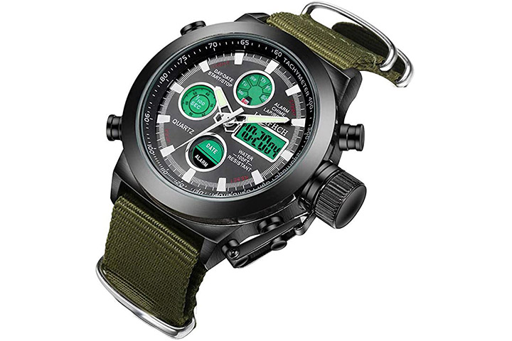 LYMFHCH Mens Sports Watch
