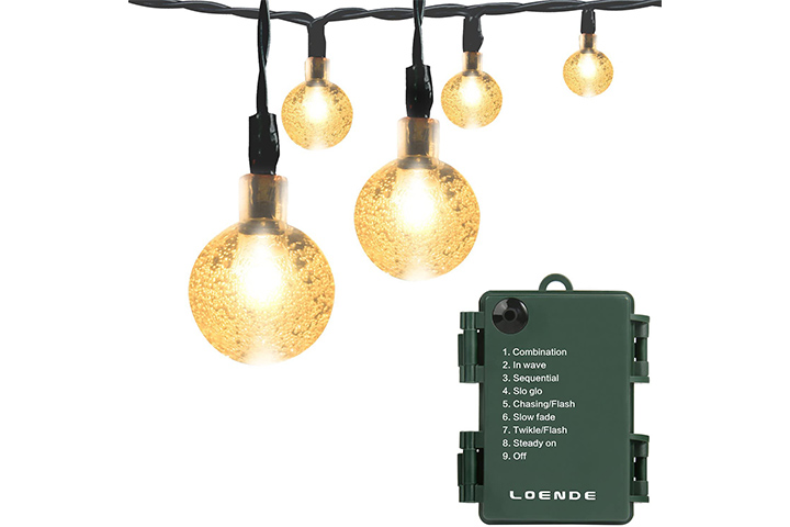 Loende Battery Operated String Lights