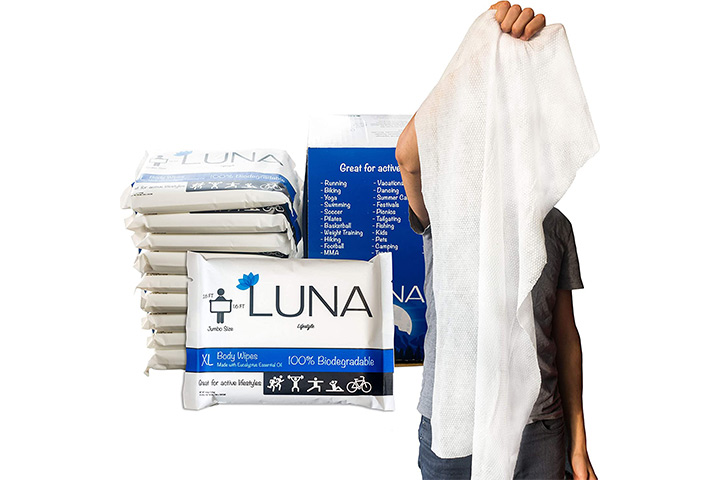 Luna Lifestyle XL Body Wipes