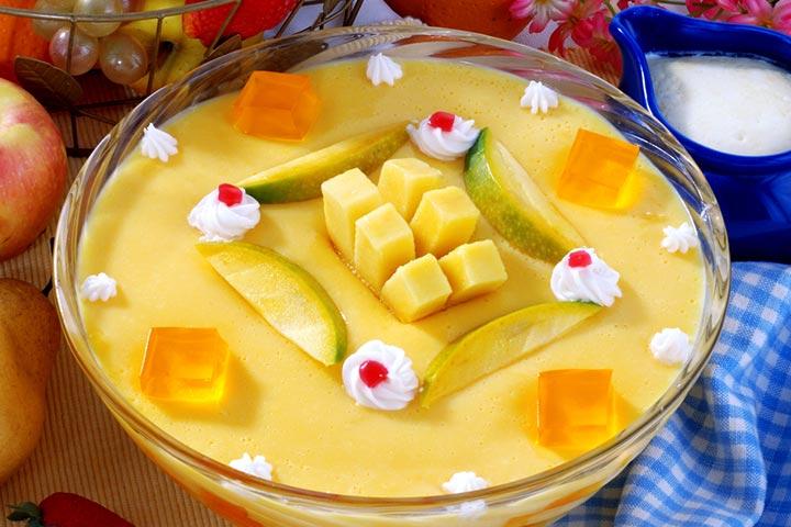 Mango And Passionfruit Custard