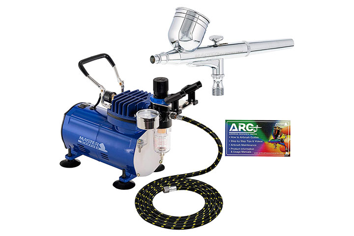 Master Gravity-Feed Dual-Action Airbrush