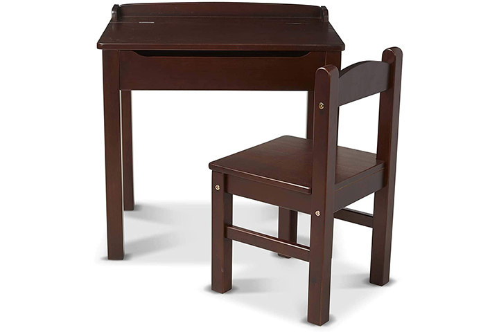 Melissa & Doug Wooden Desk and Chair