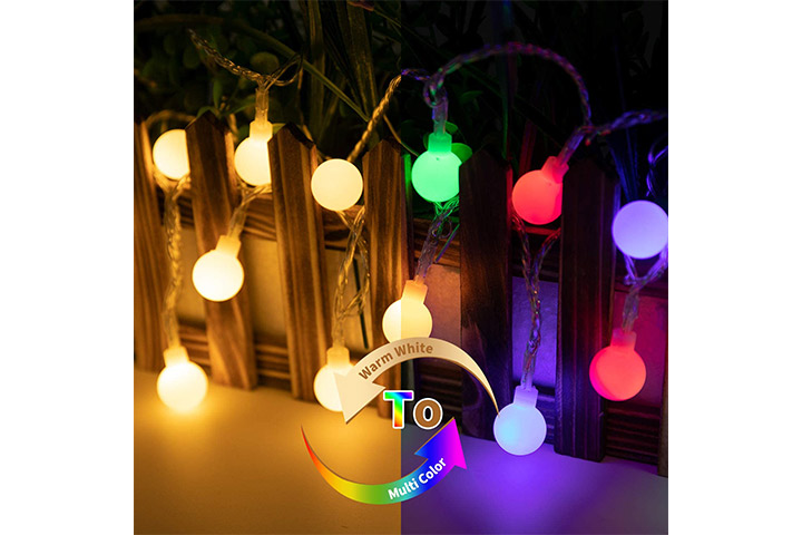 Minetom LED Global Ball String Lights