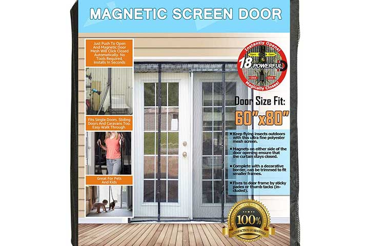 N-Green Double Door Magnetic Screen