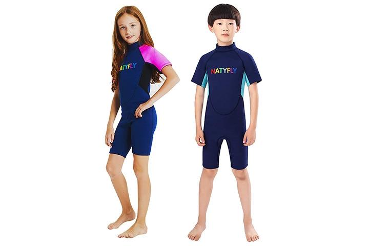 Natyfly Kids Shorty Wetsuit