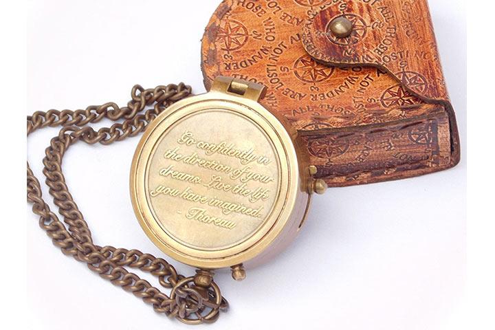 Neovivid Nautical Compass Watch