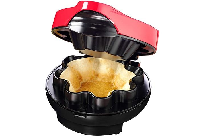 Nostalgia Baked Tortilla Bowl Maker