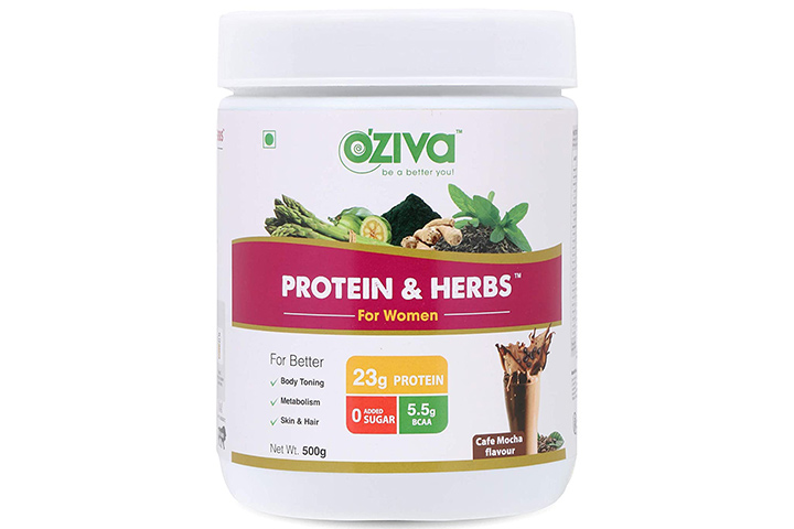 OZiva Protein & Herbs For Women