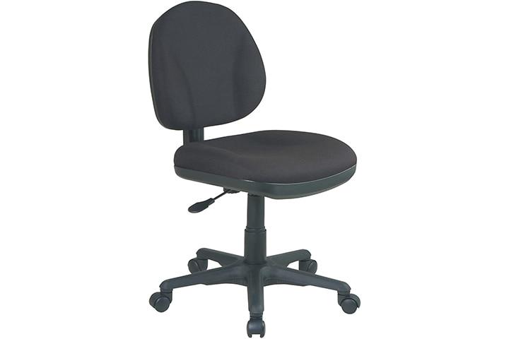 Office Star Sculptured Armless Chair