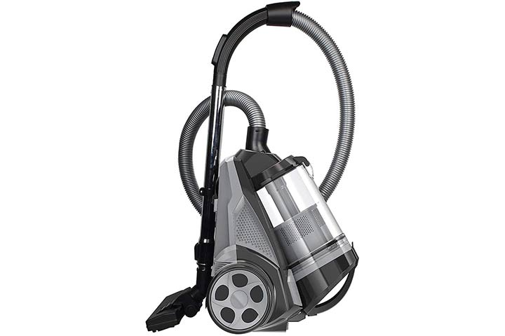 Ovente Bagless Canister Cyclonic Vacuum
