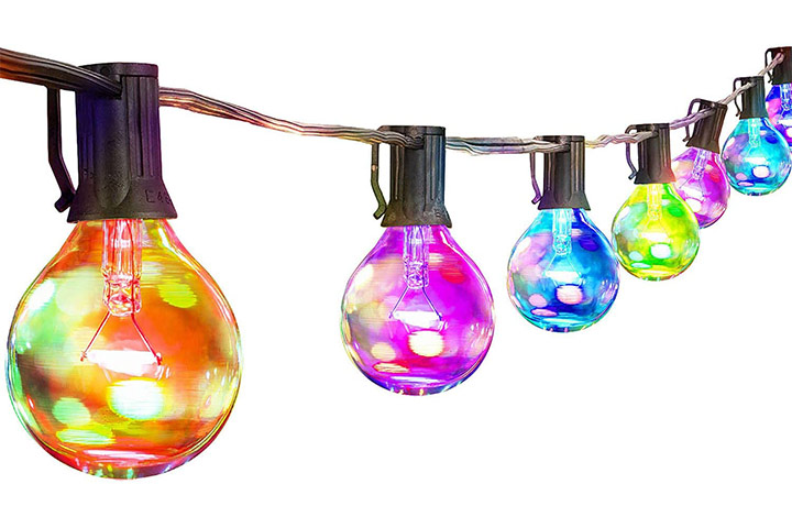Palawell Outdoor String Lights in Multicolor