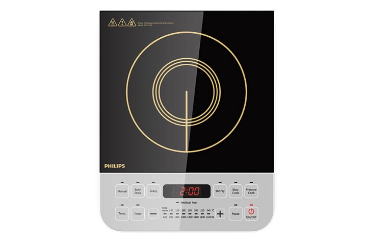 Philips Viva Collection HD492801 Induction Cooktop