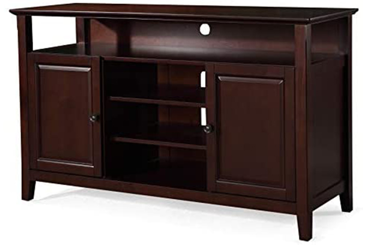 Phoenix Home Solid Wood TV Media Stand