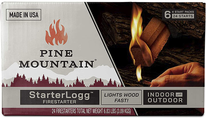 Pine Mountain StarterLogg Select-A-Size Firestarting Blocks