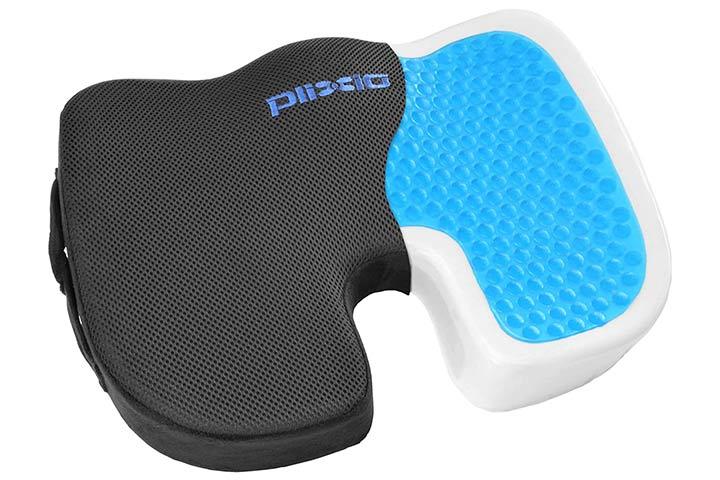 Plixio Gel And Memory Foam Seat Cushion