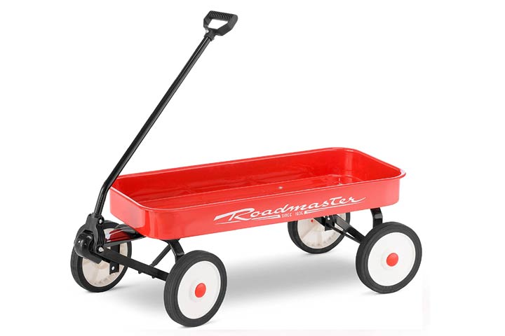 Roadmaster Kids and Toddler Classic Steel Pull Wagon