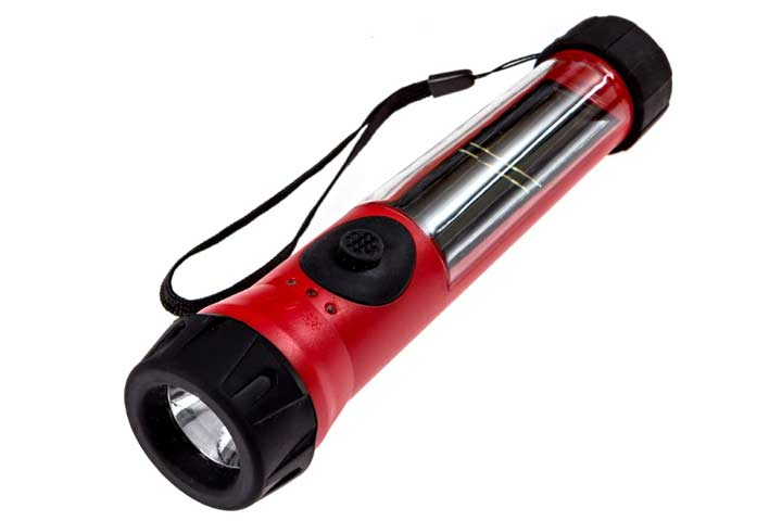 SOS Solarlight Flashlight